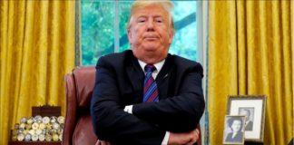 Trump en pelotas