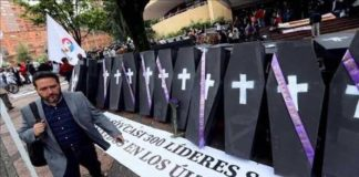 colombia-asesinatos-líder social
