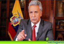 Desde Miami Lenín Moreno acusa a Venezuela de financiar protestas en Colombia