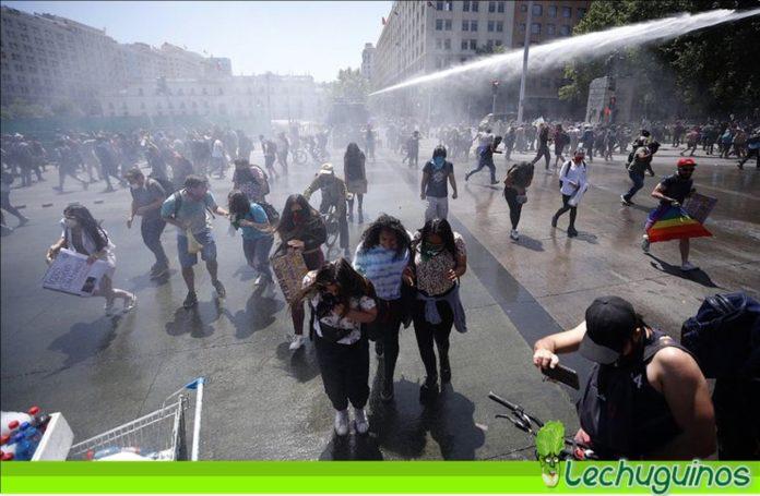 protesta chile ordenó