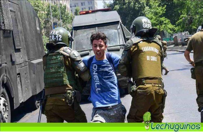 protestas muertes chile represión