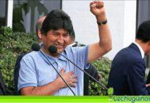 Evo Morales gobierno de facto pide detención