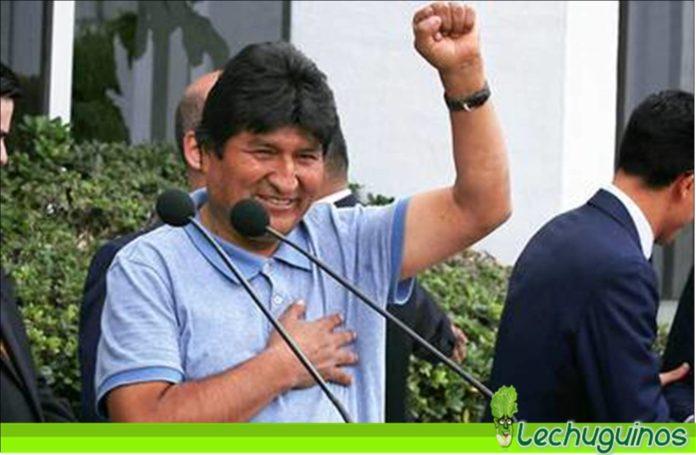Evo Morales aseguró que el pueblo dio una lección de democracia