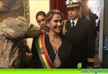Jeanine Añez expulsar españoles