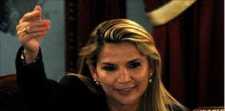Jeanine Añez Bolivia - golpista Jeanine Añez