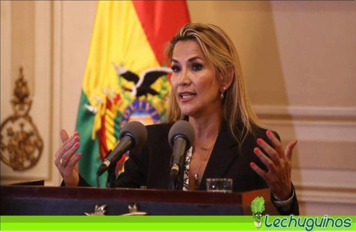 Jeanine Áñez aplazar elecciones