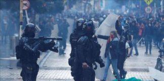 represion decena heridos colombia