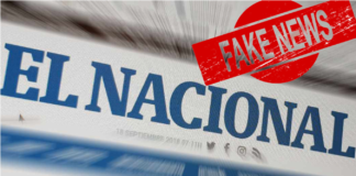 El Nacional falso coronavirus whatsapp helicoide