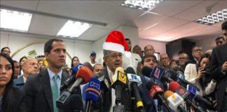 Ramos Allup Guaido navidad