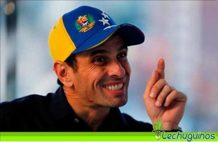 Los Guaidó lovers arremetieron contra Capriles por llamar a las elecciones