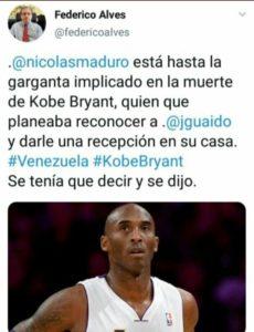 Federico Alves Kobe Bryant