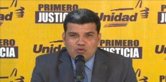 EEUU sancionará Luis Parra