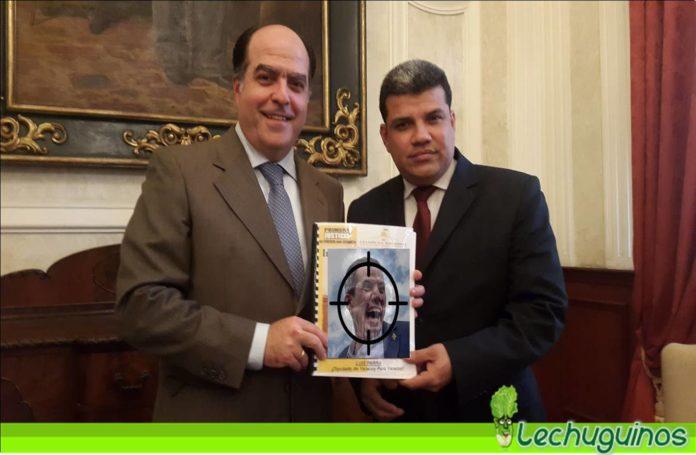 Julio Borges y Luis Parra Conspiración
