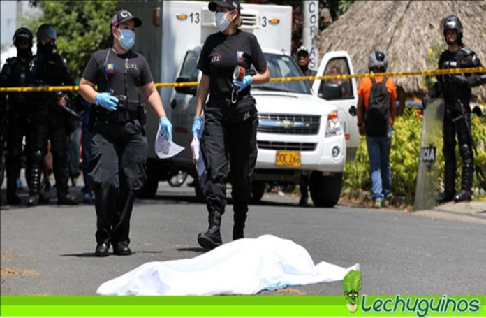 asesinados 25 lideres sociales colombia