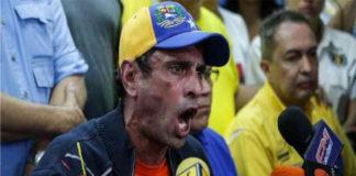Henrique Capriles, explotó de arrechera