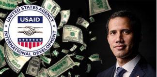 EEUU aprueba otros 2 millones de dólares que manejarán amigos de Guaidó