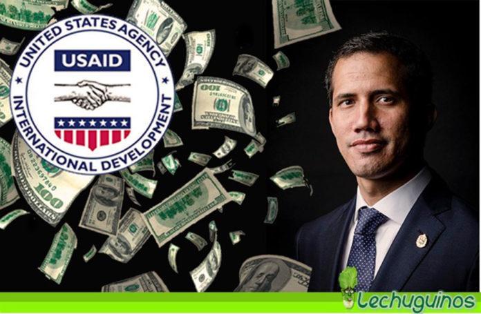 EEUU asegura que ha dado $ 1.2 millones a la oposición y explotan las críticas USAID DOLARES