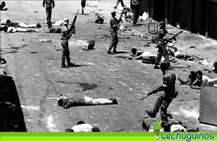 caracazo pueblo masacrado