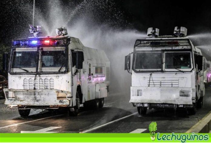 Plan de desinfección calles de Caracas