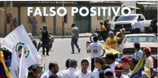falso positivo periodista brasileña desmontó guaidó pistolero