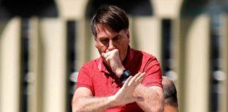 bolsonaro rompe cuarentena potencial genocidio moto brasil covid-19