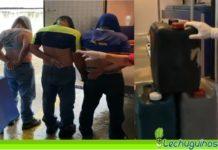 detenidos trafico gasolina ambulancia lacava