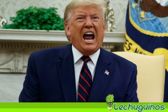 Trump honor dictador