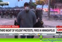 equipo cnn detenido Minneapolis