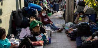 escuálidos chile piden vuelo humanitario