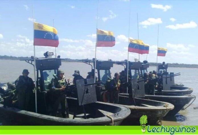 incursión marítima Venezuela