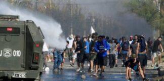 protesta chilenos pandemia comida