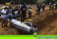 Brasil tercer pais con mas muertes Covid-19