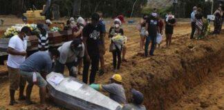 Admiten que cifra de muertos por COVID-19 en Brasil supera el límite