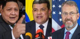 James Story Luis Parra y Jose brito