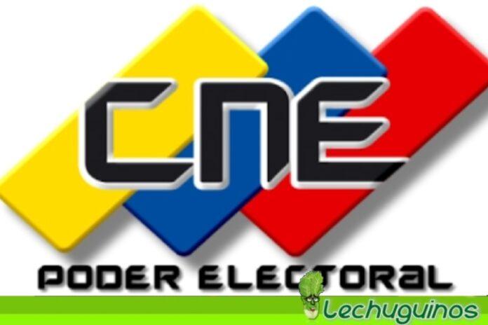 cne registro electoral Leonardo Morales