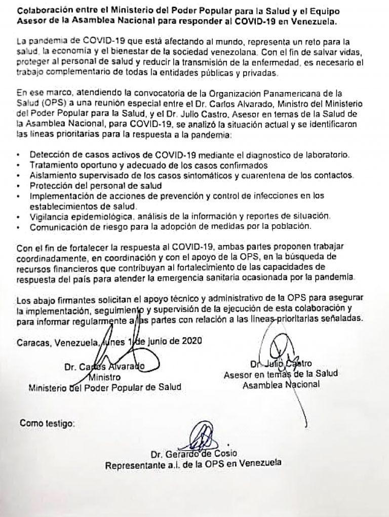 convenio gobierno G4
