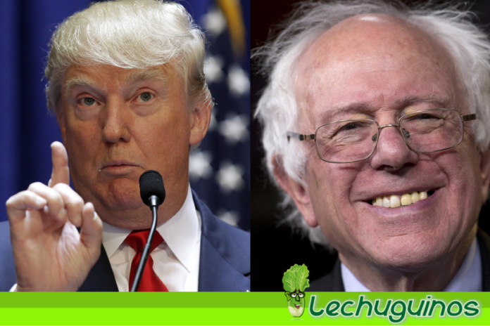 Bernie Sanders Donald Trump desquiciado
