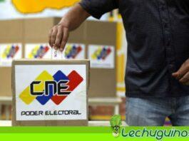 CNE ELECCIONES ESCAÑOS habilitados
