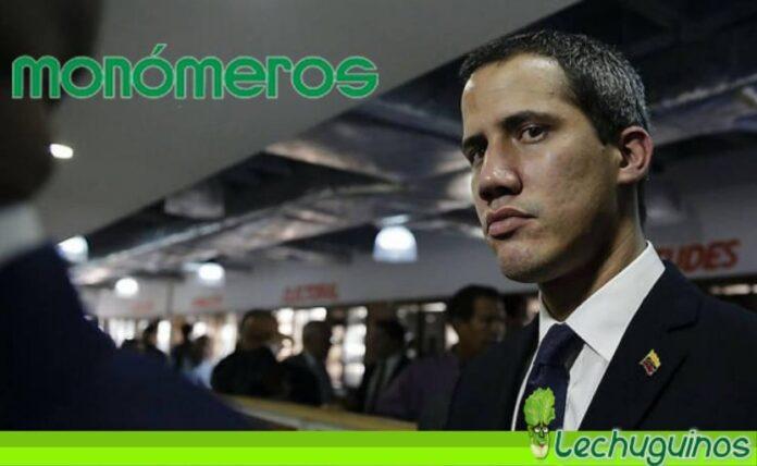 Juan Guaidó respaldó decisión de Colombia de robarse Monómeros