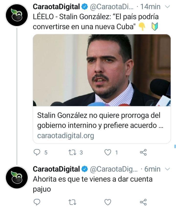 Caraota Digital Tuit