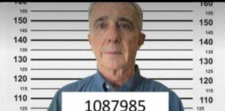 Álvaro Uribe, registrado como preso en el sistema penitenciario colombiano