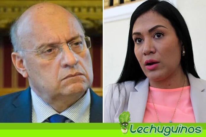 Gobernadora de Táchira sigue en AD aunque Williams Dávila dice que la expulsaron