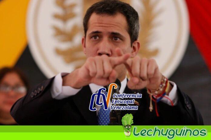 Guaidó le replicó a la Conferencia Episcopal y desestimó su comunicado