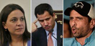 Guaidó planea presionar a Capriles y a María Corina con sanciones gringas