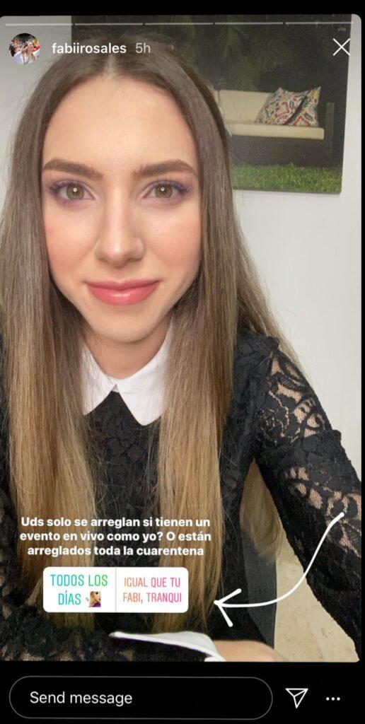 Fabiana Rosales Instagram Cerebro