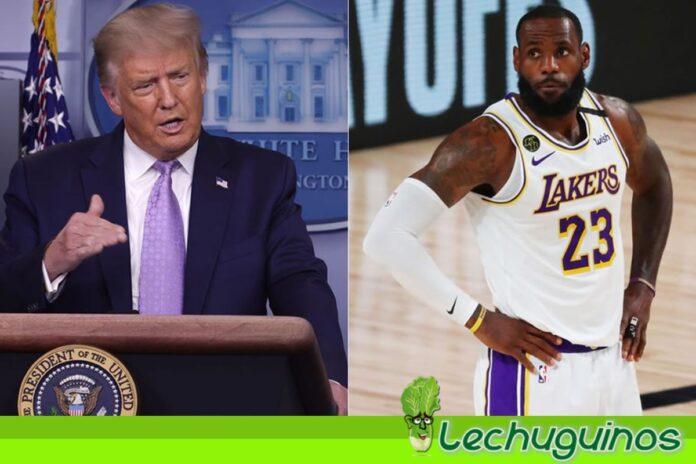 LeBron James responde a Trump