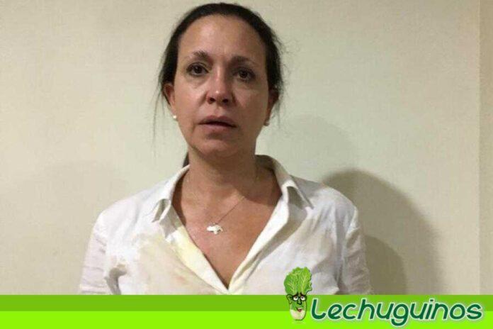 María Corina Machado detención Uribe