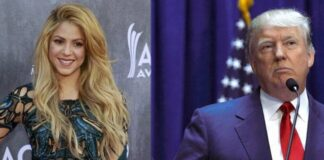 Shakira critica a Donald Trump y llama a votar en su contra