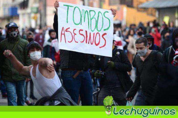 Ahora Duque pretende culpar a Petro de la masacre policial en Bogotá