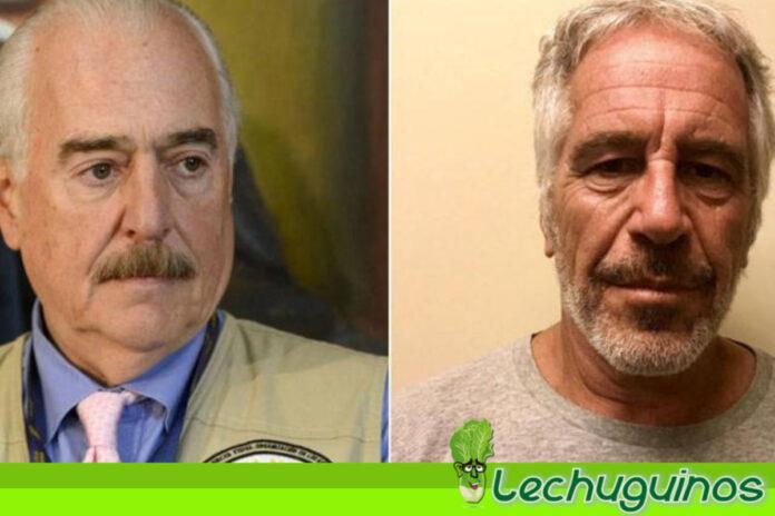 Andrés Pastrana anda asustado por su implicación con el caso de Jeffrey Epstein